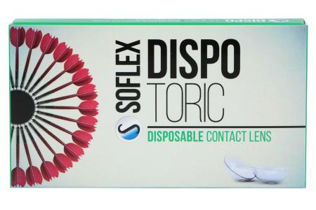 Dispo Toric, 2 x 6 Stück Kontaktlinsen von Soflex / Conil