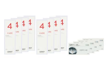 Dispo AB Kontaktlinsen von Conil & Dynaeasy 4, Jahres-Sparpaket