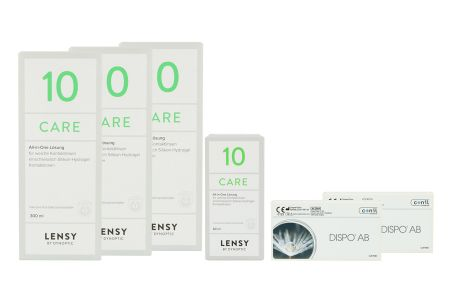 Dispo AB Kontaktlinsen von Conil & Lensy Care 10 Halbjahres-Sparpaket