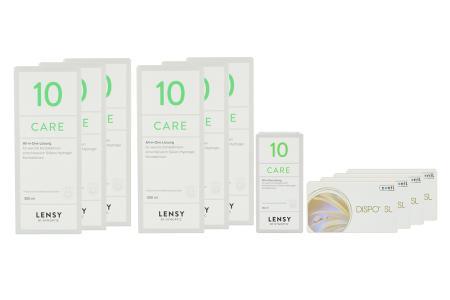 Dispo SL Kontaktlinsen von Conil & Lensy Care 10 Jahres-Sparpaket