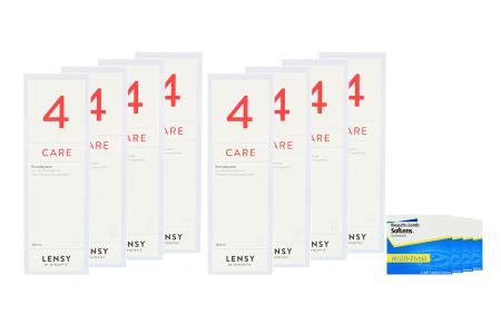 SofLens Multi-Focal 4x6 Monatslinsen + Lensy Care 4 Jahres-Sparpaket