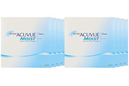1-Day Acuvue Moist 2x360 Stück Kontaktlinsen von Johnson & Johnson, Sparpaket 12 Monate