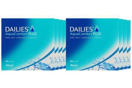 Dailies AquaComfort Plus Kontaktlinsen von Ciba Vision / Alcon, Sparpaket 12 Monate 2x360 Stück