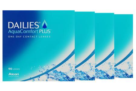 Dailies AquaComfort Plus 4 x 90 Tageslinsen Sparpaket 6 Monate | Dailies AquaComfort Plus (360er), Dailies Aqua Comfort, Aqua Comfort linsen, Dailies