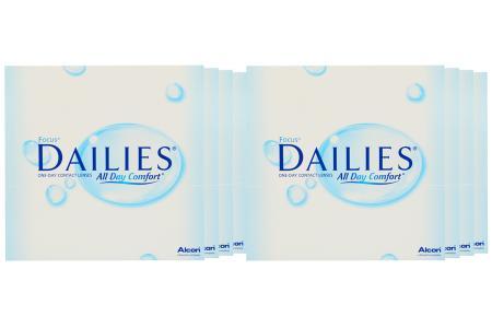 Dailies All Day Comfort Kontaktlinsen von Ciba Vision, Sparpaket 12 Monate 2x360 Stück