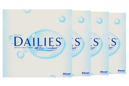 Dailies All Day Comfort 4 x 90 Tageslinsen Sparpaket 6 Monate