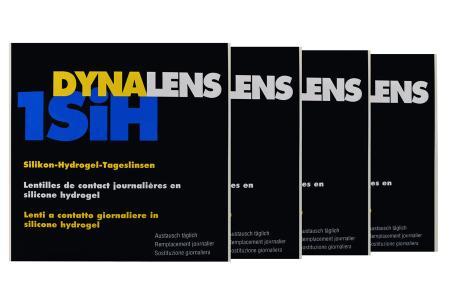 Dynalens 1 SiH Kontaktlinsen von Dynoptic, Sparpaket 6 Monate 2 x 180 Stück