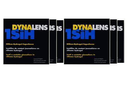 Dynalens 1 SiH Kontaktlinsen von Dynoptic, Sparpaket 9 Monate 2 x 270 Stück