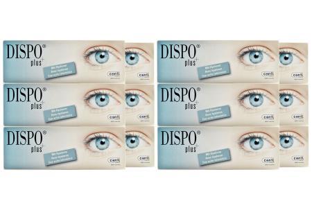 Dispo+ plus 4 x 90 Tageslinsen Sparpaket 6 Monate