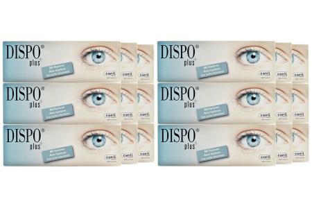 Dispo+ plus 6 x 90 Tageslinsen Sparpaket 9 Monate | Dispo+ plus (540er), Dispo plus, Dispo plus One Day, Dispo plus 1Tag