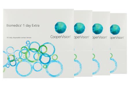 Biomedics 1 day Extra 4 x 90 Tageslinsen Sparpaket 6 Monate