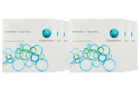 Biomedics 1 day Extra 6 x 90 Tageslinsen Sparpaket 9 Monate