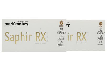 Saphir Rx Monthly Toric, 2 x 3 Stück
