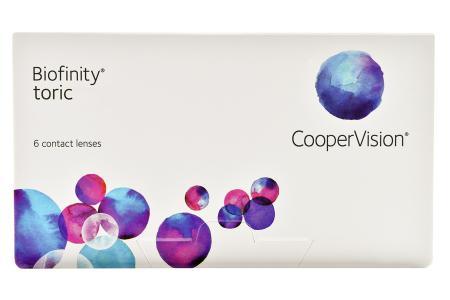 Biofinity toric 6 Monatslinsen | Biofinity toric, 6 Stück Kontaktlinsen von Cooper Vision, Biofinity Toric (6er), Biofinity Toric, Biofiniti Toric