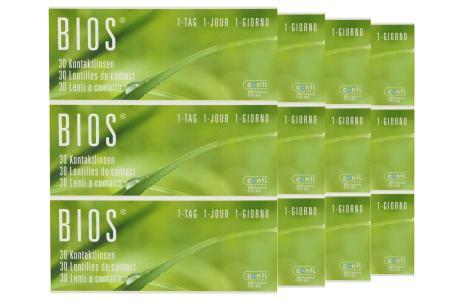 Bios 1-Tag Kontaktlinsen von Conil, Sparpaket 6 Monate 2x180 Stück