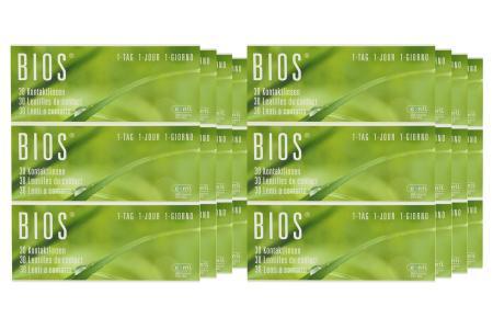 Bios 1-Tag 8 x 90 Stück - Tageslinsen Sparpaket für 12 Monate von Conil |