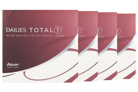 Dailies Total 1 4 x 90 Tageslinsen Sparpaket 6 Monate