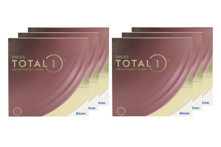 Dailies Total 1 6 x 90 Tageslinsen Sparpaket 9 Monate
