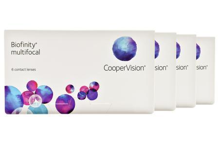 Biofinity multifocal, 4 x 6 Stück Kontaktlinsen von Cooper Vision