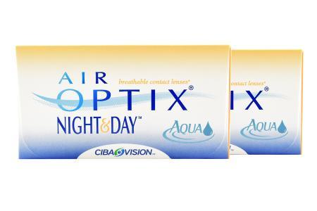 Air Optix Night & Day Aqua, 2 x 6 Stück Kontaktlinsen von Ciba Vision