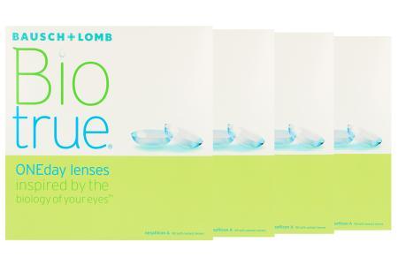 Biotrue One day Kontaktlinsen von Bausch & Lomb, Sparpaket 6 Monate 2x180 Stück
