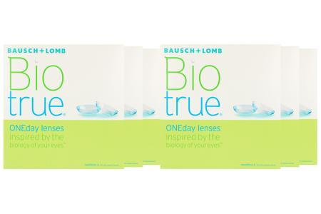 Biotrue One day Kontaktlinsen von Bausch & Lomb, Sparpaket 9 Monate 2x270 Stück
