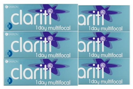 Clariti 1 day multifocal, Sparpaket 3 Monate 2x90 Stück