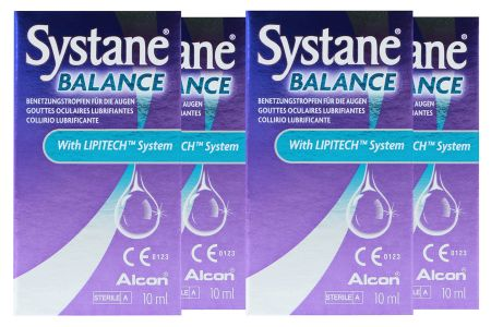 Systane Balance 4 x 10 ml Augentropfen