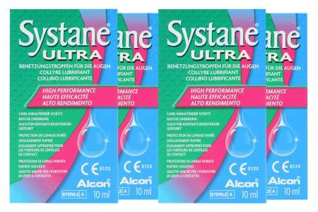 Systane® Ultra 4x10ml
