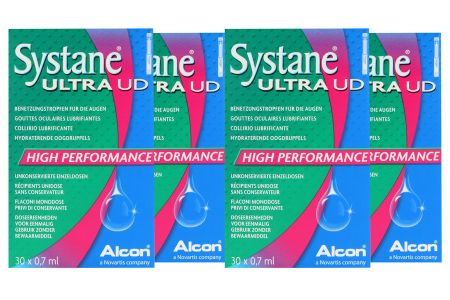 Systane Ultra UD 4 x 30 x 0,7 ml Augentropfen