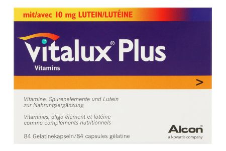 Vitalux® Plus 84 Kapseln