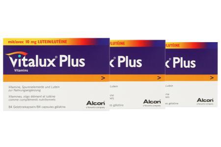 Vitalux Plus 3 x 84 Kapseln Nahrungsergänzung | Vitalux® Plus 3 x 84 Kapseln