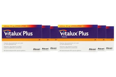 Vitalux Plus 6 x 84 Kapseln Nahrungsergänzung   Vitalux® Plus 6 x 84 Kapseln