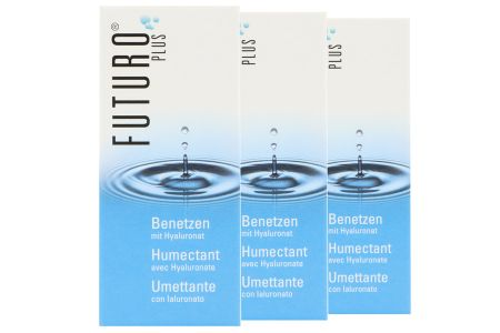 Futuro Plus Benetzen 3 x 10 ml Augentropfen