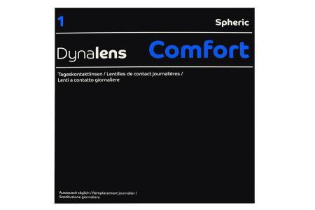 Dynalens 1 Comfort 90 Tageslinsen   Dynalens 1 Comfort, 90 Stück Kontaktlinsen von Dynoptic, Dynalens 1 Comfort spheric