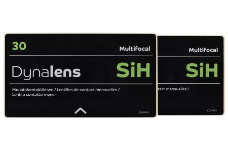 Dynalens 30 SiH Multifocal, 2 x 6 Stück