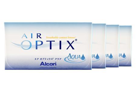 Air Optix Aqua, 4 x 6 Stück Kontaktlinsen von Ciba Vision