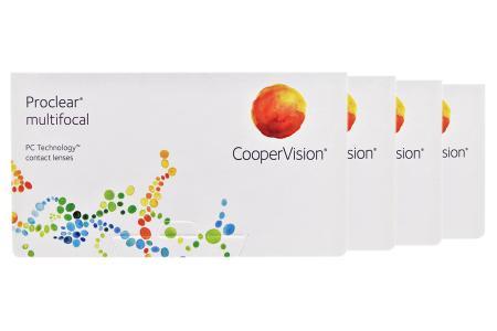 Proclear Multifocal, 4 x 6 Stück Kontaktlinsen von Cooper Vision