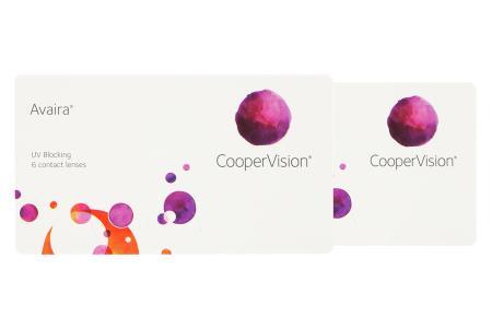 Avaira Vitality, 2 x 6 Stück Kontaktlinsen von Cooper Vision