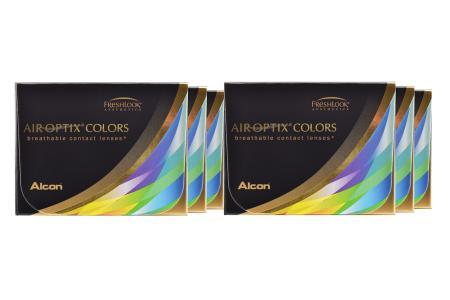 Air Optix Colors, 6 x 2 Stück neue farbige Kontaktlinsen von Ciba Vision / Alcon