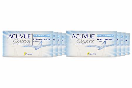 Acuvue Oasys for Astigmatism, 8 x 6 Stück Kontaktlinsen von Johnson & Johnson