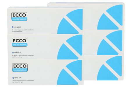 Ecco one day balance 2 x 90 Tageslinsen Sparpaket 3 Monate