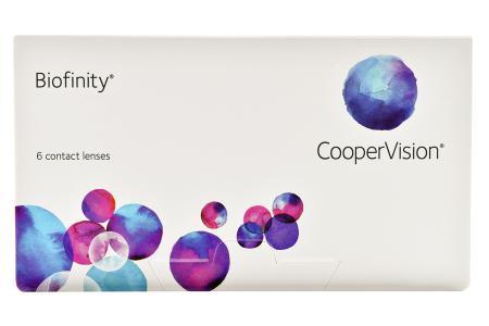 Biofinity, 6 Stück Kontaktlinsen von Cooper Vision