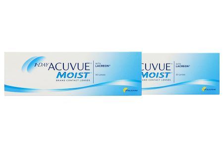 1-Day Acuvue Moist 2 x 30 Tageslinsen