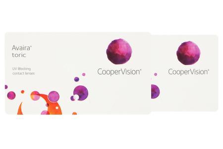 Avaira toric Vitality, 2 x 3 Stück Kontaktlinsen von Cooper Vision