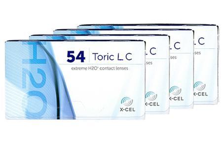 Extreme H2O 54 Toric LC, 4 x 6 Stück Kontaktlinsen von Hydrogel Vision Corp.