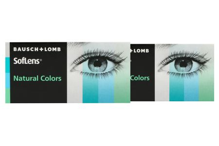 SofLens Natural Colors, 2 x 2 Stück Kontaktlinsen von Bausch & Lomb