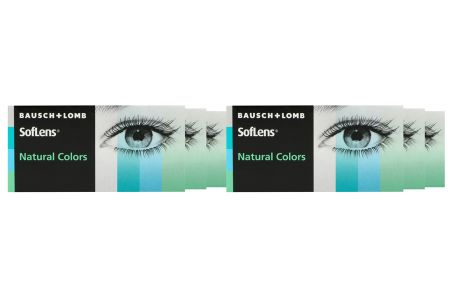 SofLens Natural Colors, 6 x 2 Stück Kontaktlinsen von Bausch & Lomb