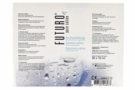 Futuro Pure Saline Unidose 30x10ml