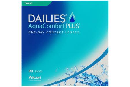 Dailies AquaComfort Plus Toric, 90 Stück Kontaktlinsen von Ciba Vision / Alcon
